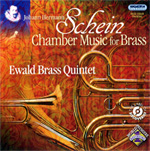 Ewald CD - J. H. Schein: Chamber Music for Brass